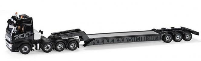 VOLVO FH16 mit 3achs Tieflader