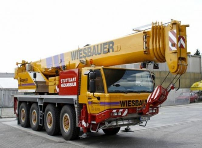 "TADANO FAUN 4achs Autokran ATF70-G4 ""Wiesbauer"""