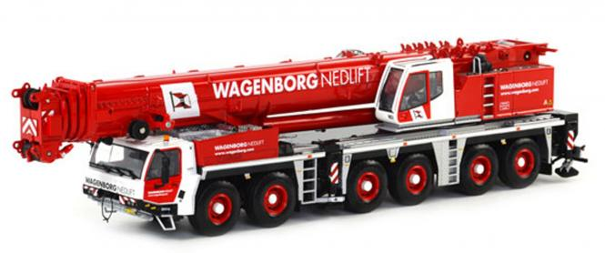 "TADANO 6achs Autokran ATF400G-6 ""Wagenborg Nedlift"""