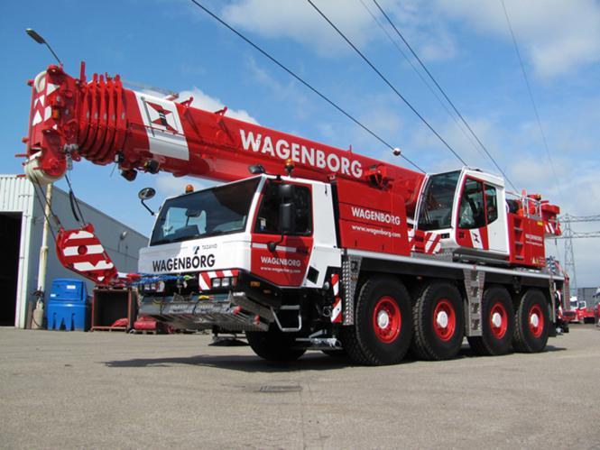 "TADANO FAUN 4achs Autokran ATF 70G-4 ""Wagenborg"""