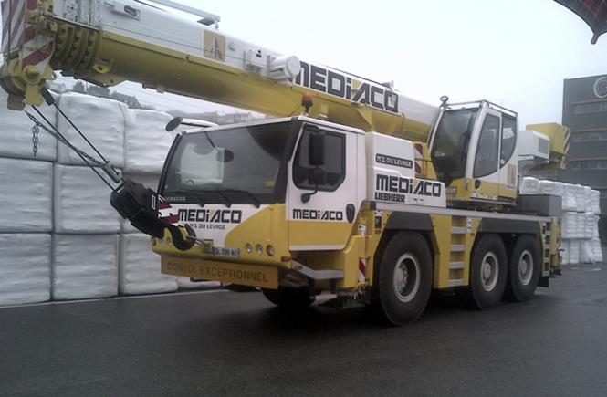 "LIEBHERR 3-achs Autokran LTM1050-3.1 ""Mediaco"""