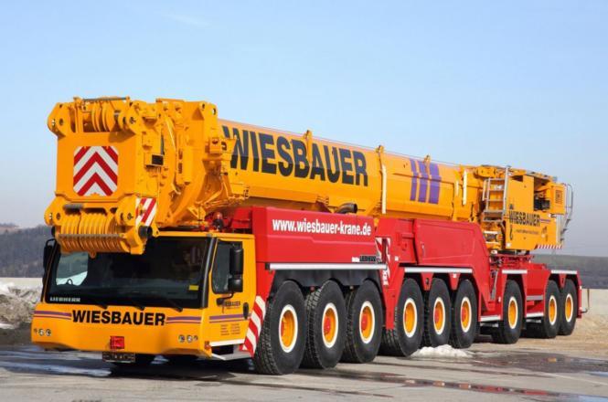 """LIEBHERR 9achs Autokran LTM1750-9.1 """"Wiesbauer"""""""
