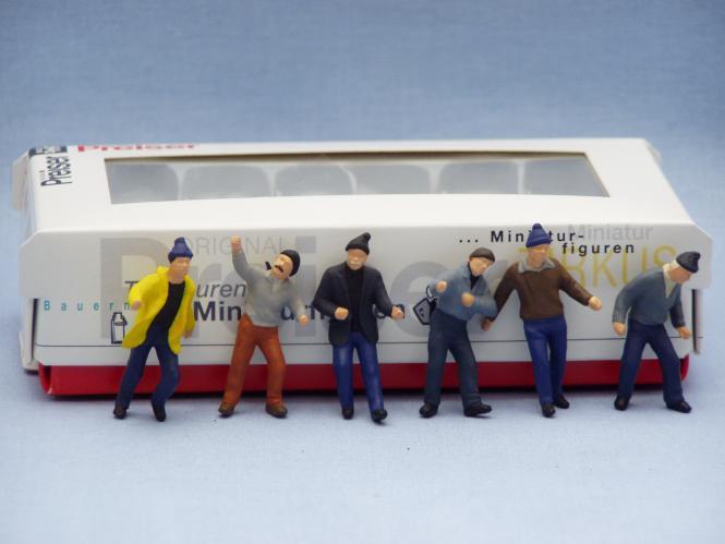 6 Figuren: Arbeiter