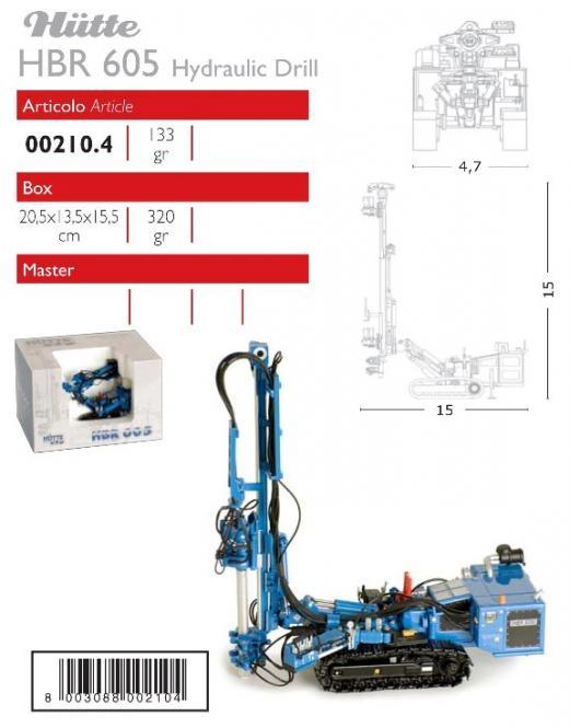 HÜTTE Ankerbohrgerät HBR605