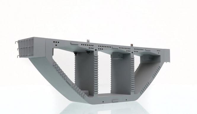 Brücken-Kastenträger 33 x 5 x 10,5 cm