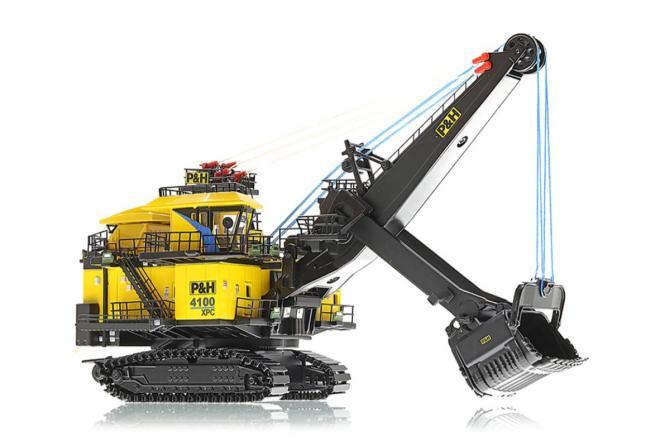 P&H Seilbagger 4100XPC   1:160