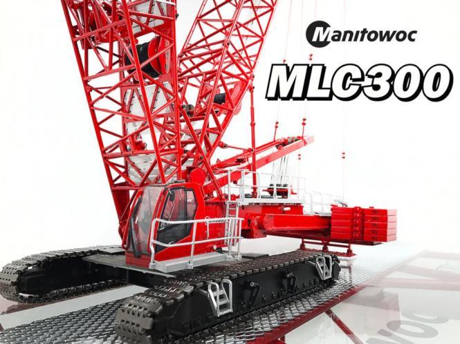 MANITOWOC MLC300 Mobiler Gitterkran mit VPC