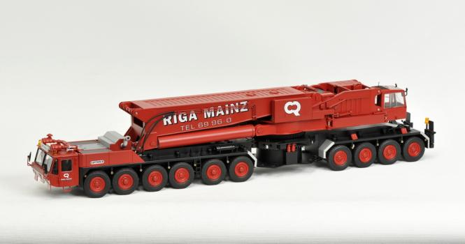 GOTTWALD AMK1000 mit sep. Mastransporter ''RIGA'' historisch