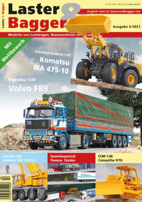 Zeitschrift: Laster & Bagger 04-2021