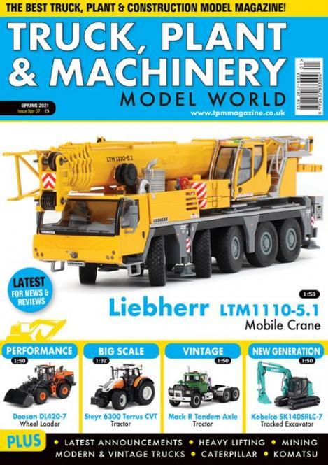 Zeitschrift: Truck, Plant & Machinery Model World Frühjahr 2021