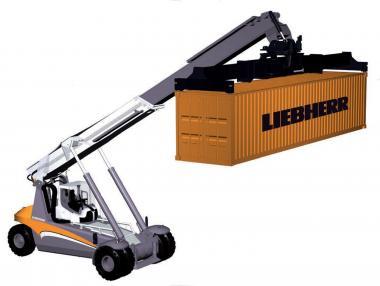 LIEBHERR Containerlader LRS 545