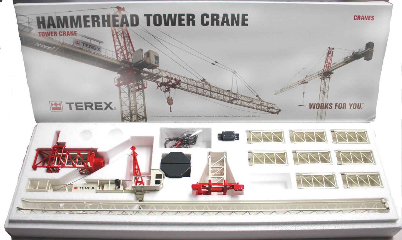 www scalemodels de terex hammerhead tower crane sk415 20 rh spiel modellkistl de Terex Crane Parts Boom Truck