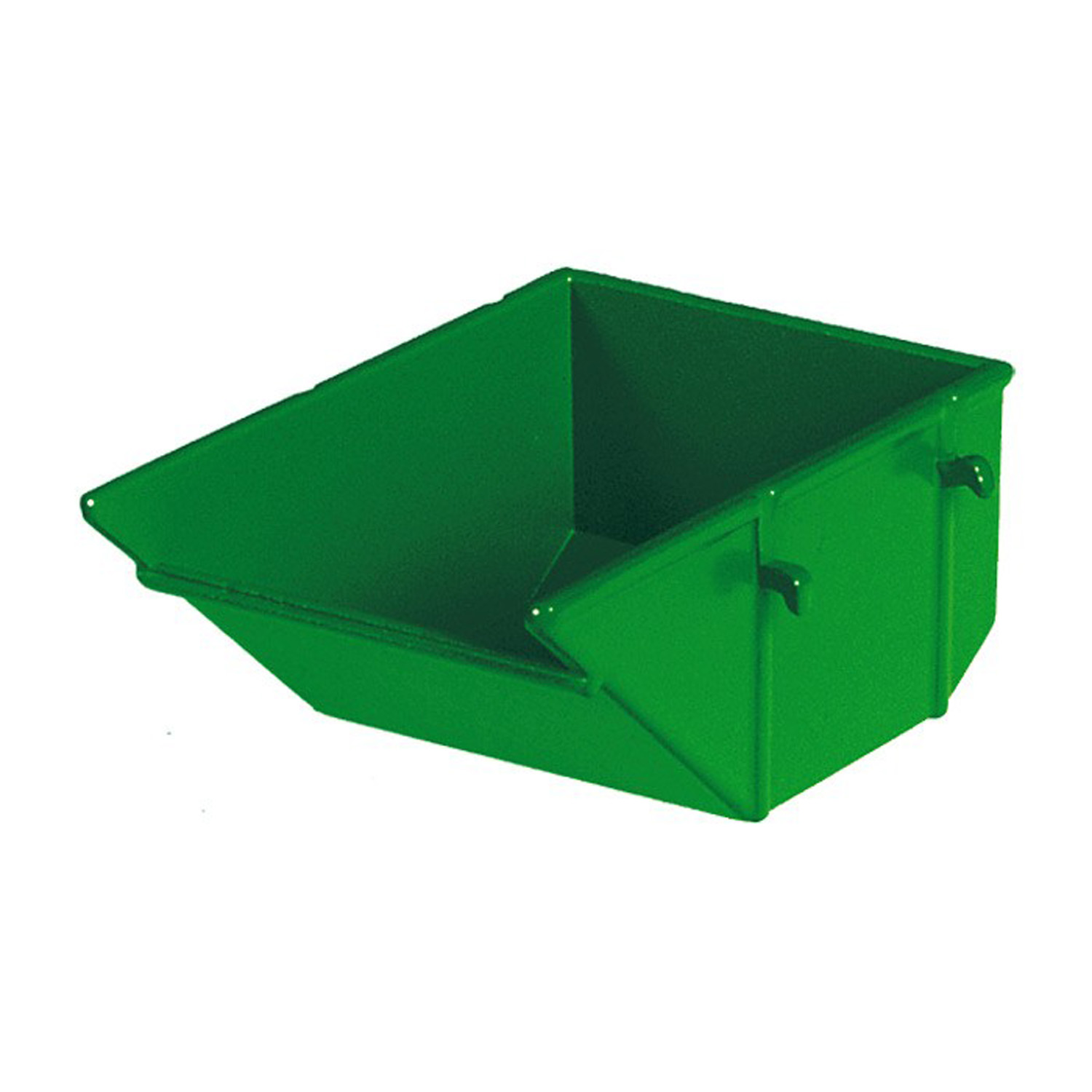 Construction waste container green for Construction container