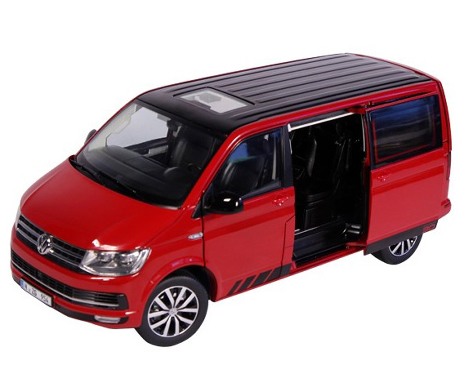 spiel modellkist 39 l shop vw t6 multivan edition 30 rot online kaufen. Black Bedroom Furniture Sets. Home Design Ideas