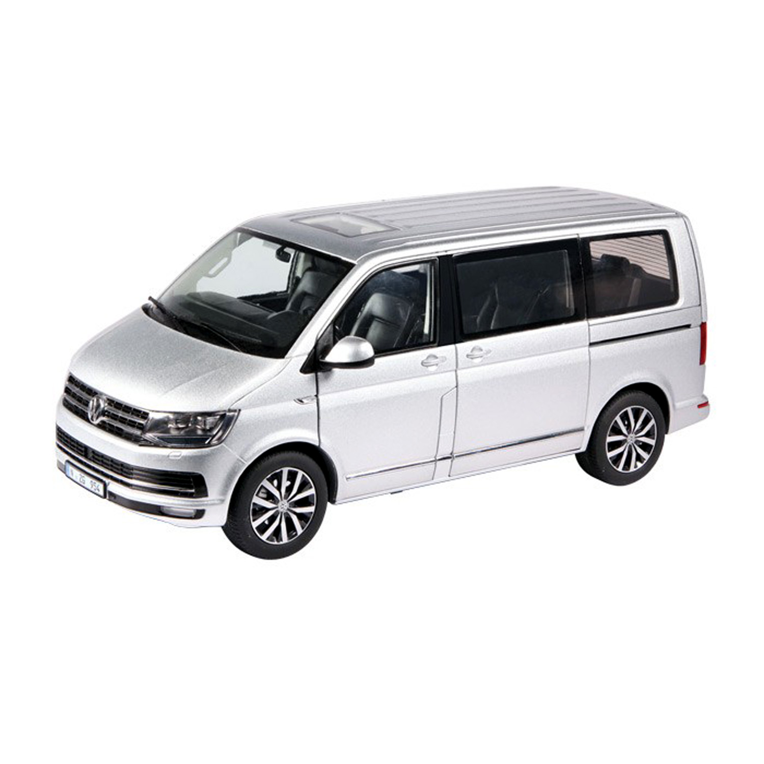 spiel modellkist 39 l shop vw t6 multivan highline silber online kaufen. Black Bedroom Furniture Sets. Home Design Ideas