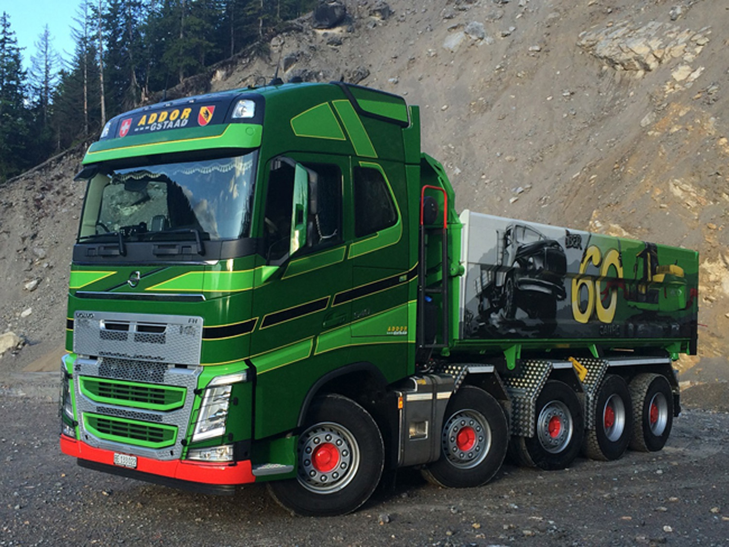 Www Scalemodels De Volvo Fh4 Globetrotter Xl Tipper Quot Addor Quot Purchase Online