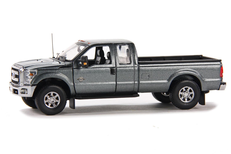 spiel modellkist 39 l shop ford pick up f250 xlt 8 39 bett grau online kaufen. Black Bedroom Furniture Sets. Home Design Ideas
