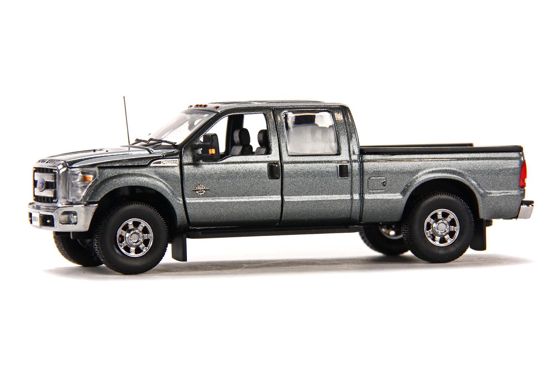 spiel modellkist 39 l shop ford pick up f250 xlt crew cab und 6 39 bett grau online kaufen. Black Bedroom Furniture Sets. Home Design Ideas