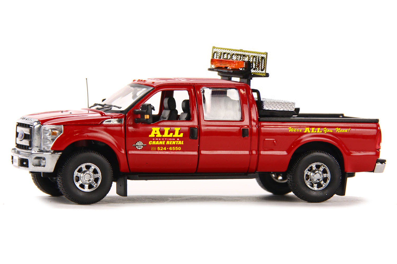 "2014 Ford F 250 Crew Cab >> www.scalemodels.de | FORD F250 Pickup with Crew Cab & 6ft Bed ""All Crane"" 