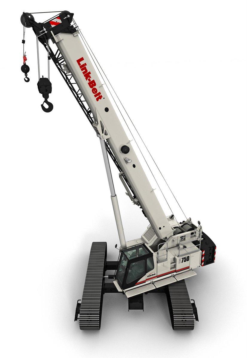 Link Belt Crawler Cranes : Scalemodels link belt crawler crane tcc